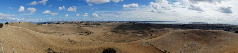Panoramic view from Red Rock Lookout