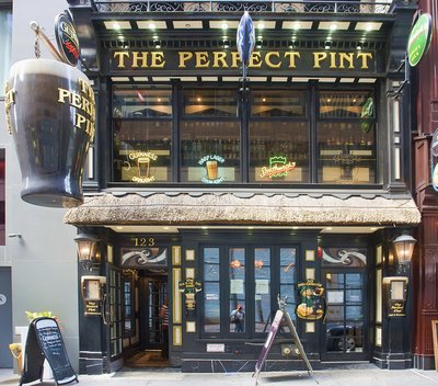 """<a href=""""http://www.theperfectpintnyc.com/""""><b>The Perfect Pint</b></a>123 West 45th StreetNew York, NY"""