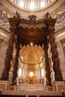 Inside St. Peters Basilica