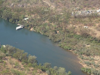 View of Katherine Gorge from the air