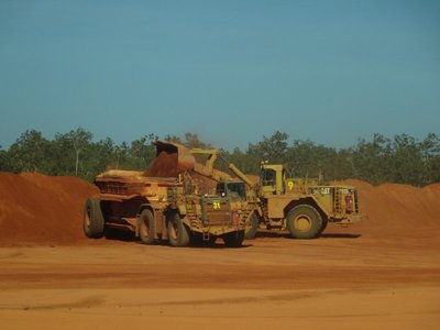 Weipa Mine both driven by women