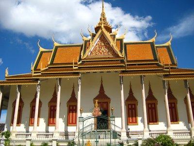 The Silver Pagoda - Phnom Penh