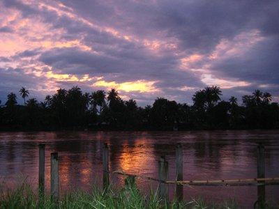 Sunset on Don Kon