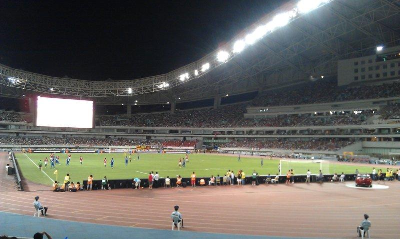 Shanghai Shenghua vs Manchester United 0 - 1