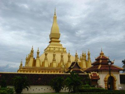 Wat That Luang - Vientiane