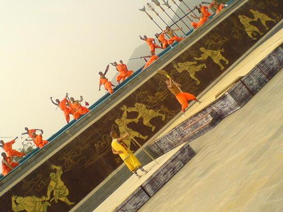 The Shaolin Monastery N Song Shan (2)