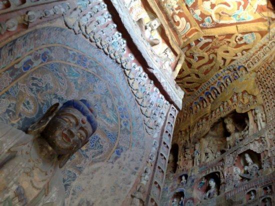 1-Yungang Grottoes Datong