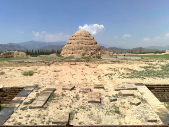 7-Western Xia Tombs No 3