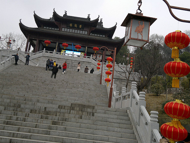 Yellow Crane Tower & Yangzi River Walk