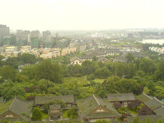 Big Goose Pagoda & City Square (24)
