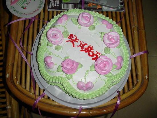 Lilleys Birthday at my house