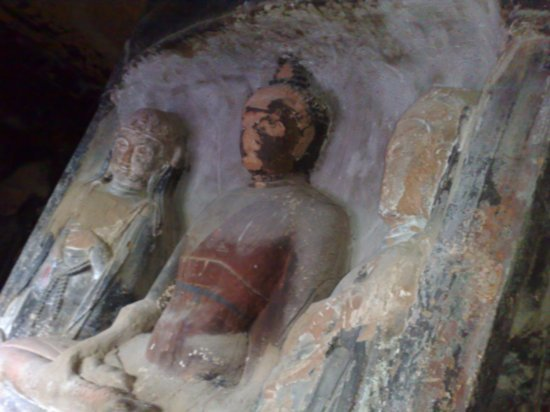 7-Xumi Shan Grottoes