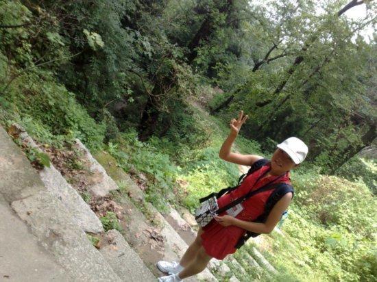 3-Climbing  Down Jigongshan