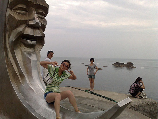 Night Beach, Yantai Hill & Museum
