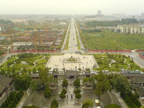 Big Goose Pagoda & City Square (26)