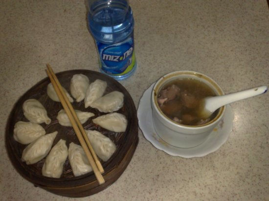 Dinner - Dumplings & Soup