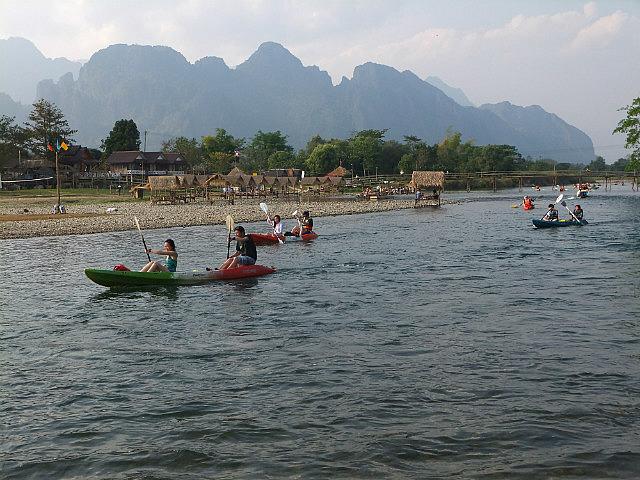 Kayaking With Tubers & Bears Feet Alcohol
