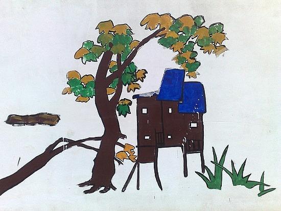 Kaili Work Site Paintings