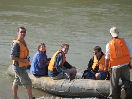 Mekong  Rafting