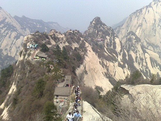 Hua Shan With The Fisher Family