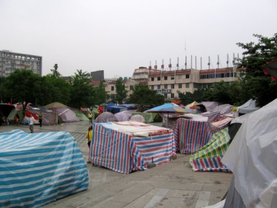 Deyang Tent City 07