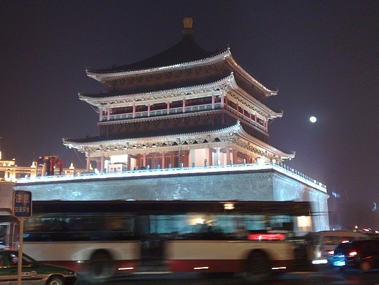 2010 New Years in Xian City