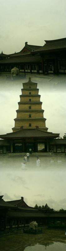 Big Goose Pagoda & City Square (20)