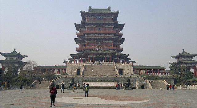 Tengwang Pavilion &  Shengjin Pagoda