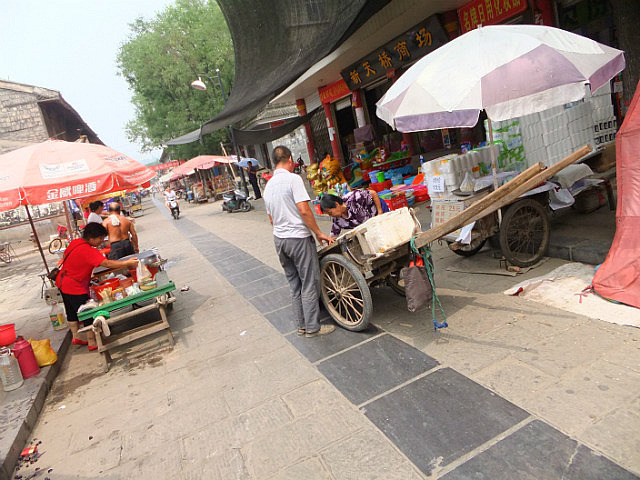 Hancheng Old Town & An Infected Foot