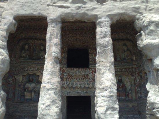 19-Yungang Grottoes Datong