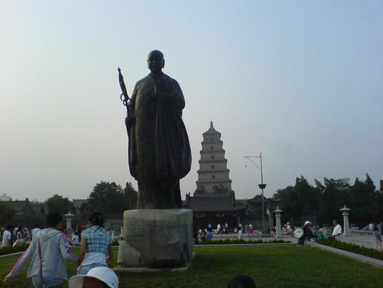 Xian Little Goose Pagoda Day (21)