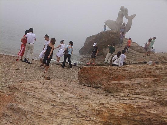 Dalians Xinghai Beach Area
