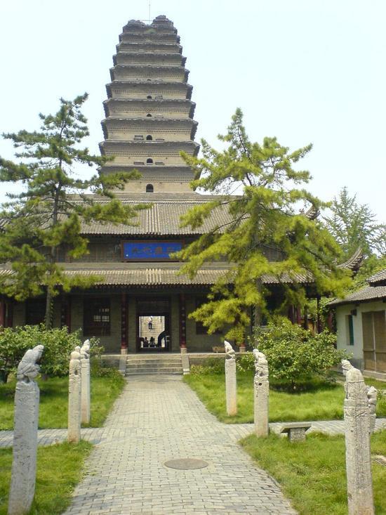 Xian Little Goose Pagoda Day (9)