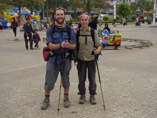 Walking from Hong Kong to France