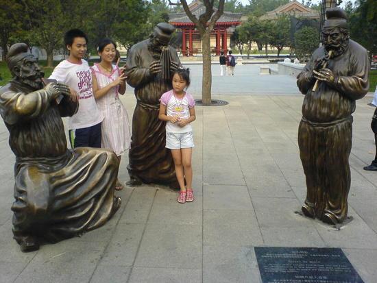 Xian Little Goose Pagoda Day (22)
