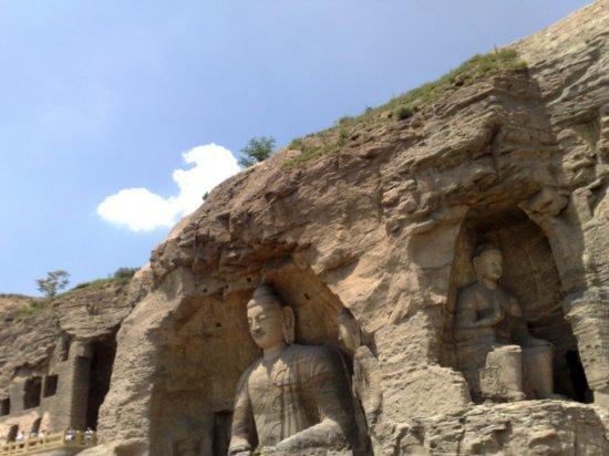 16-Yungang Grottoes Datong