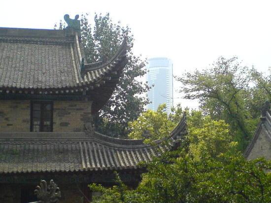 Xian Little Goose Pagoda Day (1)