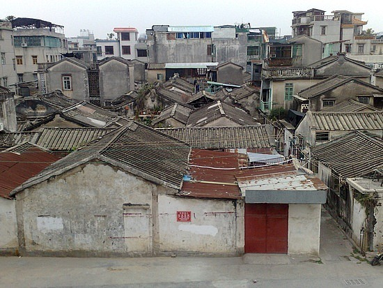 A Walls Eye View of Chaozhou & My Funky Hotel Room