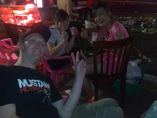 Beers In Changsha With Aussie Crusty