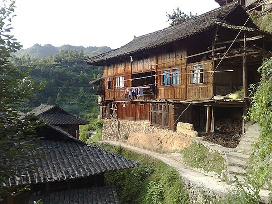 Beautiful Miao Village of Xijiang