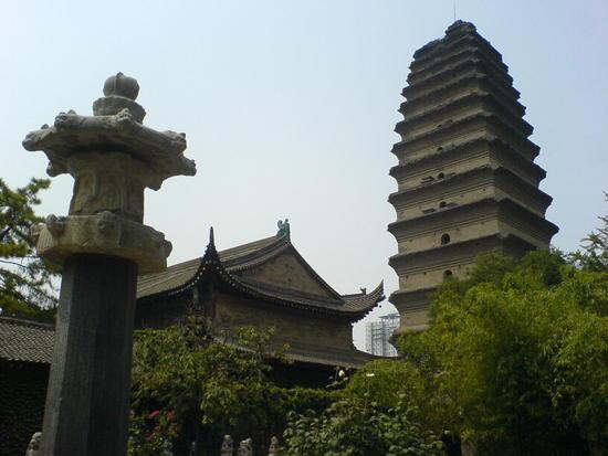 Xian Little Goose Pagoda Day (12)