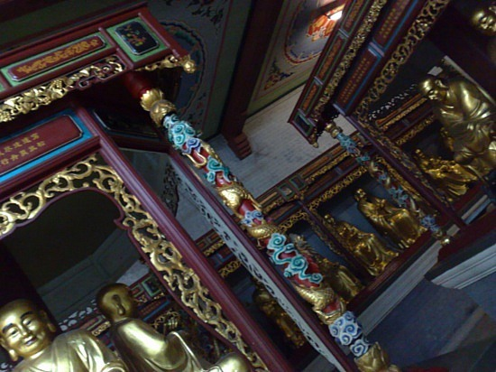 Huali Temple,  Wenhua & Liwan Parks