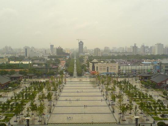 Big Goose Pagoda & City Square (23)