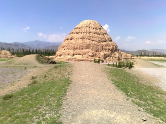 8-Western Xia Tombs No 3