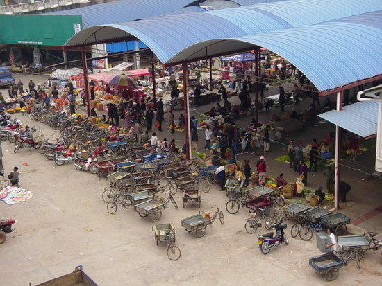 Mengla Market Village N Walk