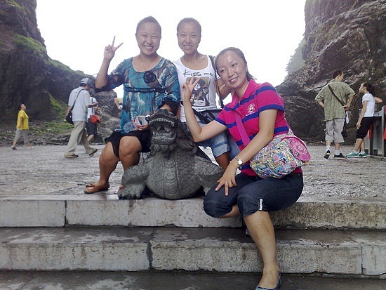 Tianmen Mountain with Connie