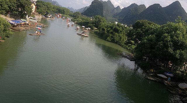 Yangshuo Dragon Bridge Ride