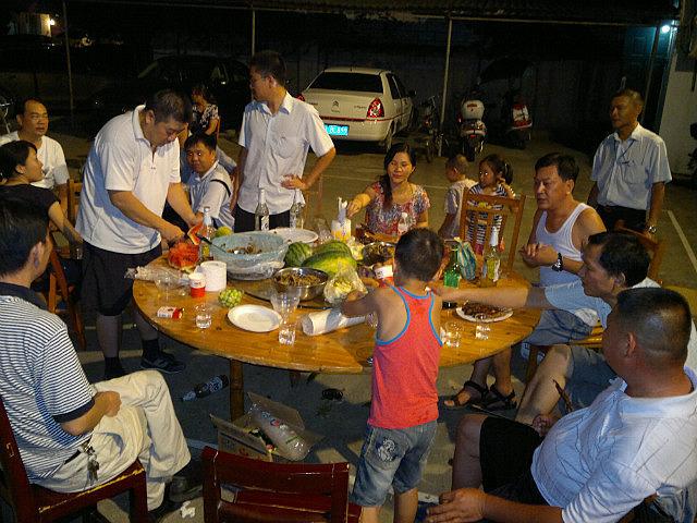 Tiny Tianyang...Big Beery Catchup