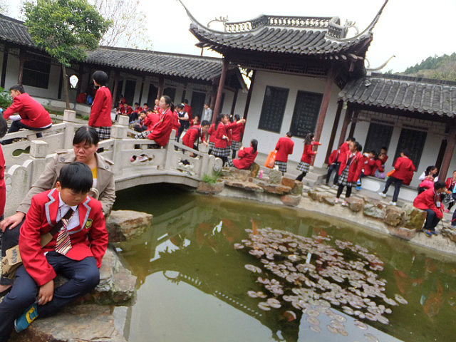School Adventure To Xuyi Tianquan Lake & Temple