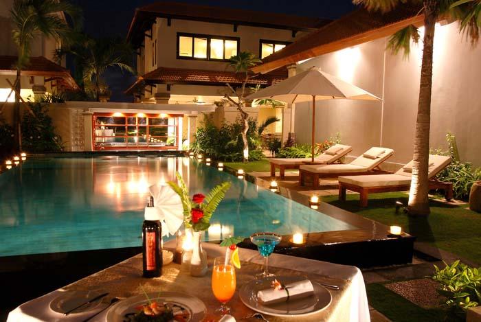 Romantic in Private Villa